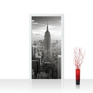 Türtapete - Manhattan Skyline New York City USA Amerika Empire State Building | no. 15