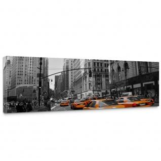 Leinwandbild Manhattan Skyline Taxis City Stadt   no. 194