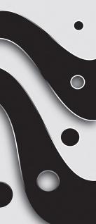 Türtapete - Abstrakt Streifen Kreise | no. 809 - Vorschau 5