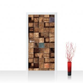 Türtapete - Abstrak Holz Muster | no. 920