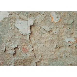 liwwing Vlies Fototapete 312x219cm PREMIUM PLUS Wand Foto Tapete Wand Bild Vliestapete - Manhattan Tapete New York Steinmauer Mauer Steine Illustration 3D weiß - no. 1865 - Vorschau 2