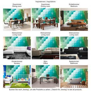 liwwing Vlies Fototapete 300x210 cm PREMIUM PLUS Wand Foto Tapete Wand Bild Vliestapete - Illustrationen Tapete Abstrakt Perlen lila grau Formen silber - no. 352 - Vorschau 5