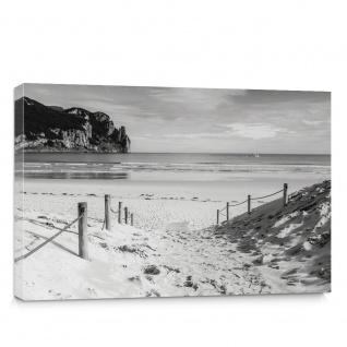 Leinwandbild Strand Wasser Meer Weg   no. 1850
