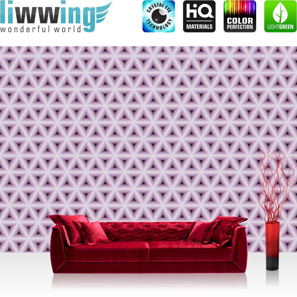 Unglaublich Muster Wand Dekoration Von Liwwing Fototapete 254x168 Cm Premium Foto Tapete