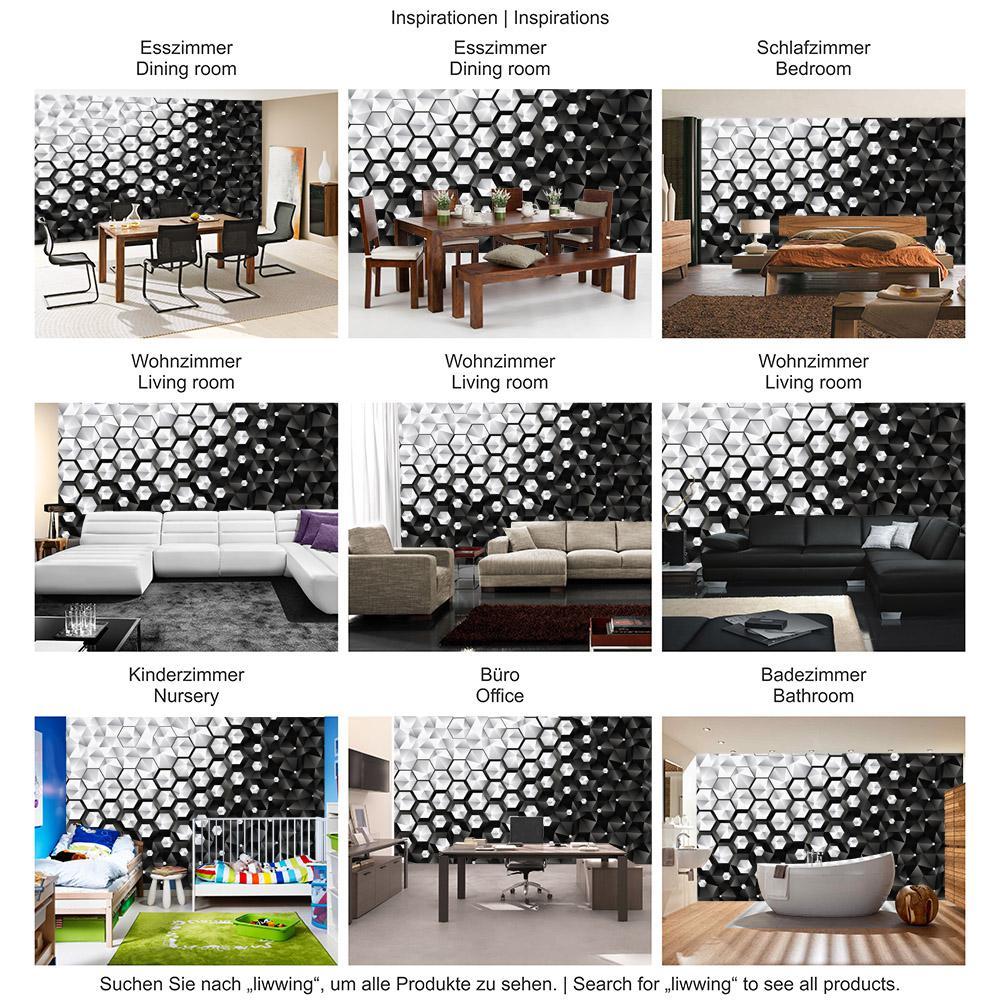 fototapete schwarz wei schlafzimmer bettw sche 200x200. Black Bedroom Furniture Sets. Home Design Ideas