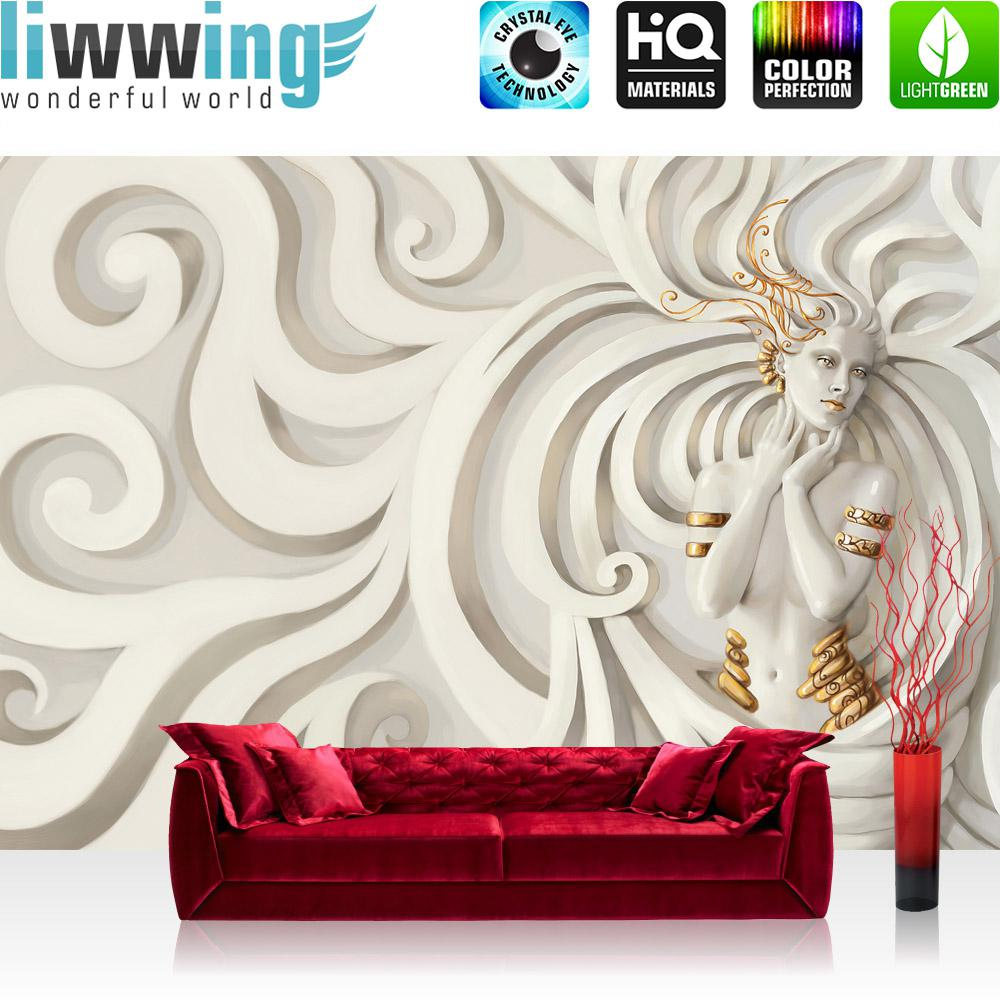 Liwwing Vlies Fototapete 208x146cm PREMIUM PLUS Wand Foto Tapete Wand Bild  Vliestapete   Holz Tapete Holzoptik ...