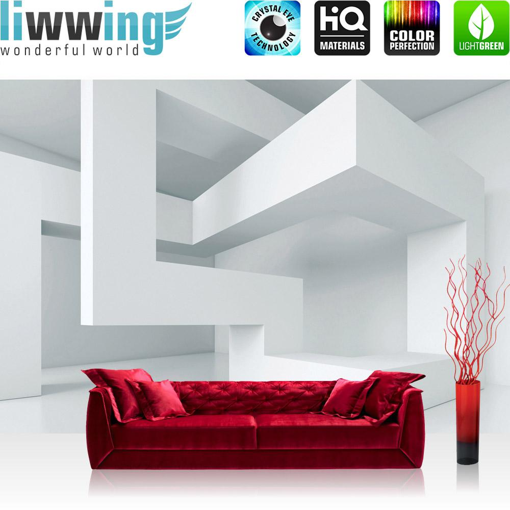 Liwwing Fototapete 254x168 Cm PREMIUM Wand Foto Tapete Wand Bild  Papiertapete   Ornamente Tapete Abstrakt Perle ...