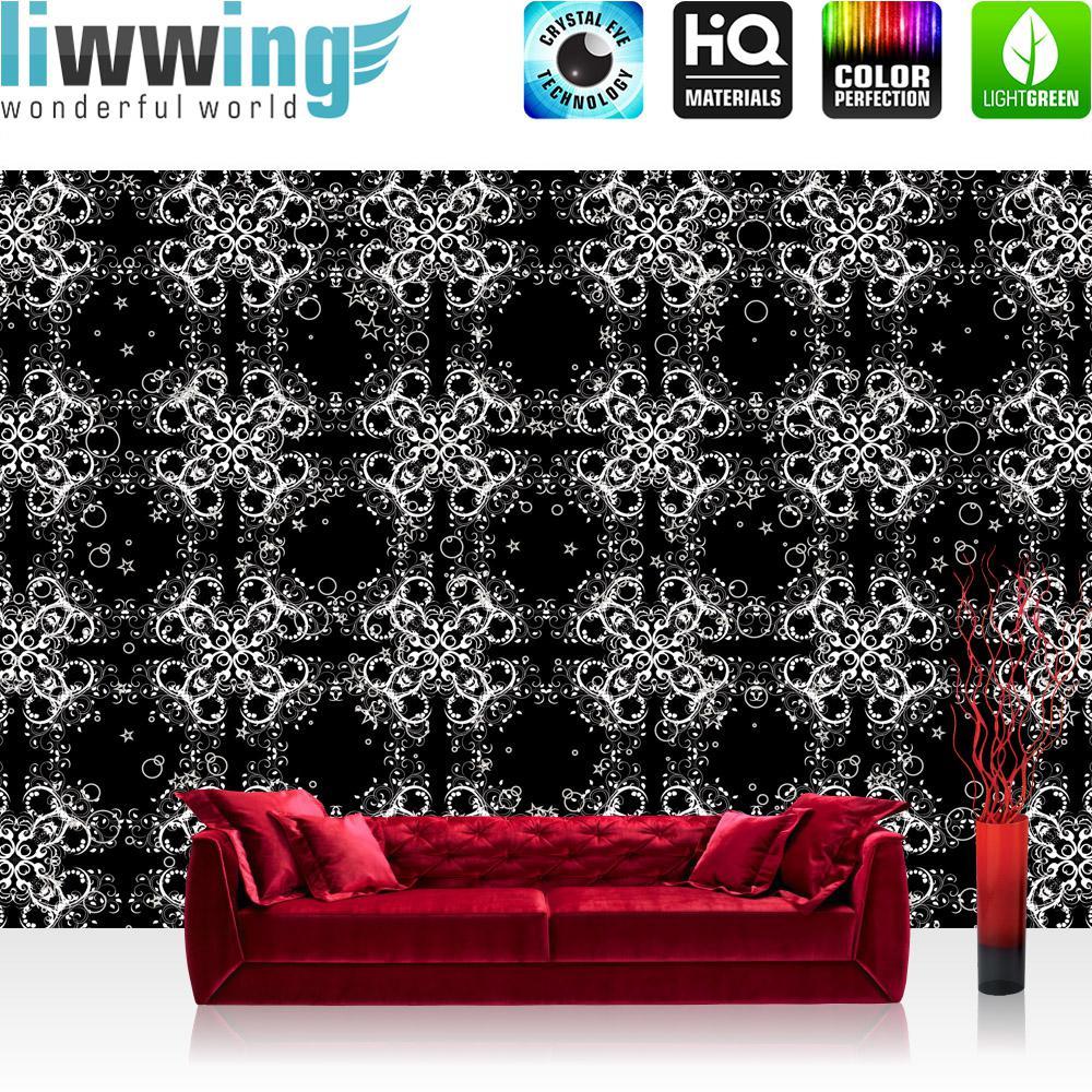tapete in schwarz wand design bilder, liwwing vlies fototapete 416x254cm premium plus wand foto tapete, Design ideen