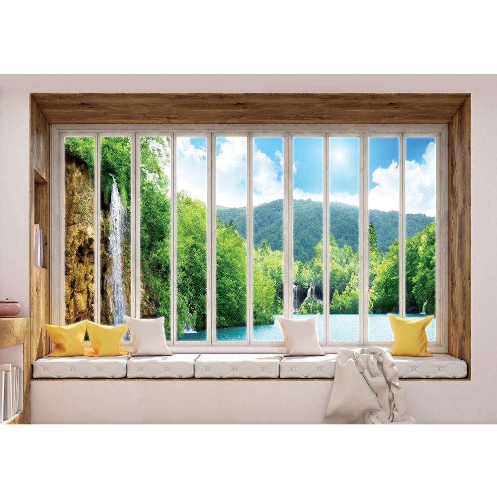 Fototapete Fenster liwwing vlies fototapete 416x254cm premium plus wand foto tapete