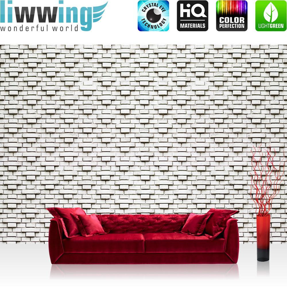 Liwwing Vlies Fototapete 416x254cm PREMIUM PLUS Wand Foto Tapete Wand Bild Vliestapete - Steinwand Tapete Steinoptik Steine Steintapete grau - no. 2908
