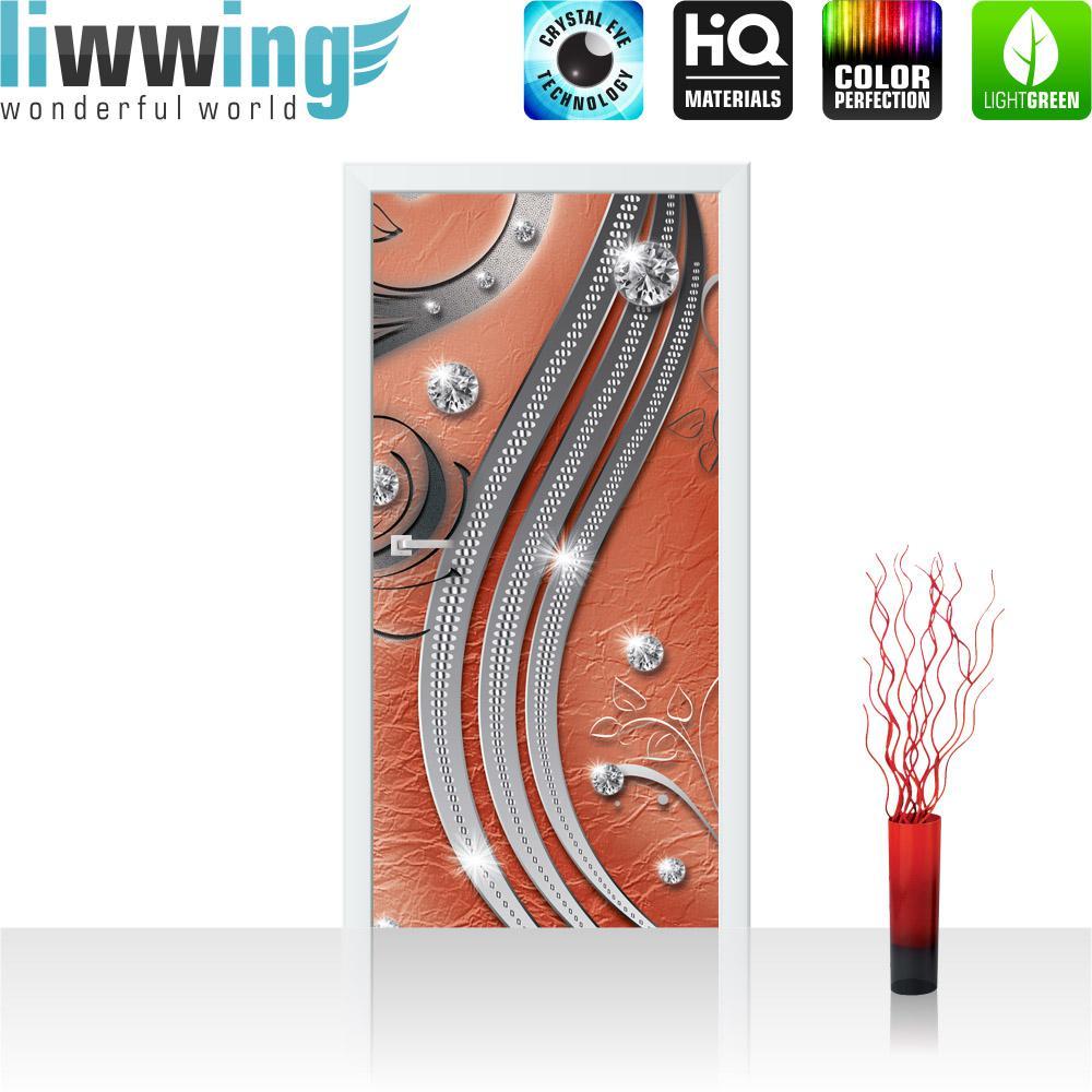 liwwing Türtapete selbstklebend 91x211 cm PREMIUM PLUS Tür ...