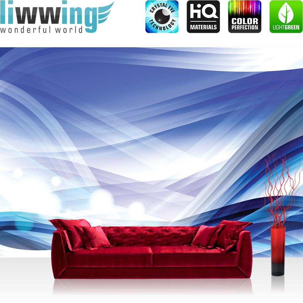 Liwwing Fototapete 254x168 Cm PREMIUM Wand Foto Tapete Wand Bild  Papiertapete   Kunst Tapete Abstrakt Design ...