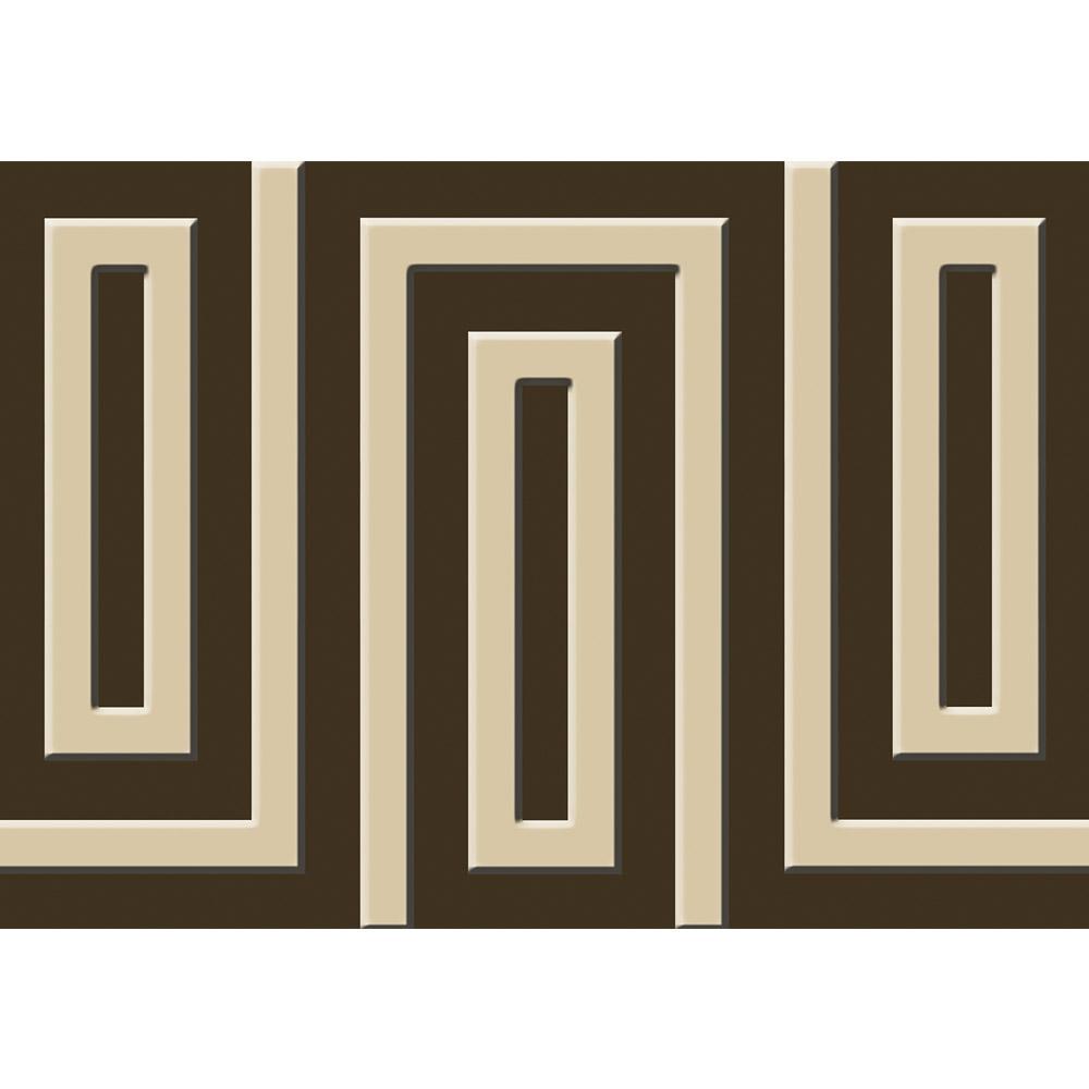 Liwwing Liwwing Liwwing Vlies Fototapete 416x254cm PREMIUM PLUS Wand Foto Tapete Wand Bild Vliestapete - Illustrationen Tapete Illustration Muster Labyrinth schwarz - no. 1311 03dccc