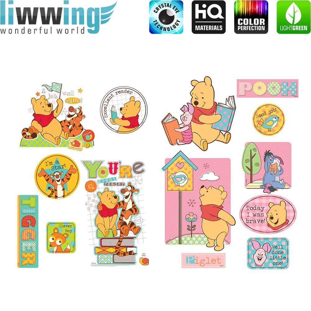 Wandsticker Disney Winnie Puuh - No. 4690 Wandtattoo Sticker I-Ah Tigger  Winnie Pooh Ferkel Cartoon