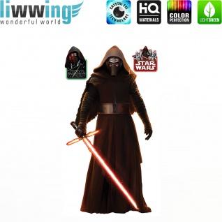 Wandsticker Disney Star Wars - No. 4664 Wandtattoo Sticker Kinderzimmer Laserschwert Weltall Raumschiffe Jungen