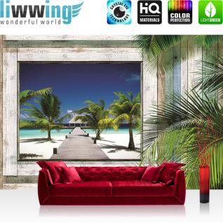 liwwing Fototapete 254x168 cm PREMIUM Wand Foto Tapete Wand Bild Papiertapete - Kunst Tapete Muster Design Lederoptik Nieten gelb - no. 2456
