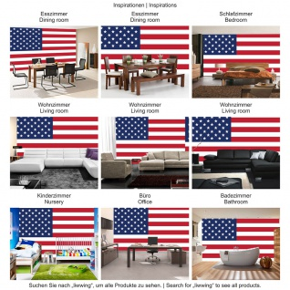 Fototapete Geographie Tapete Flagge Fahne Vereinigte Staaten Amerika USA Sterne Streifen weiß | no. 2309 - Vorschau 3