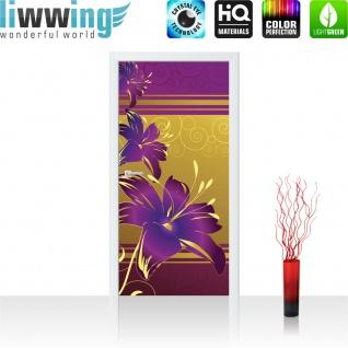 Türtapete - Abstrakt Ornamente Blumen | no. 573 - Vorschau 2