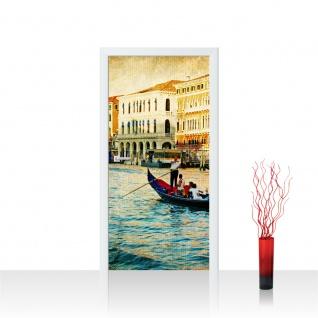 Türtapete - Venedig Kanal Italien Boot Wasser | no. 240