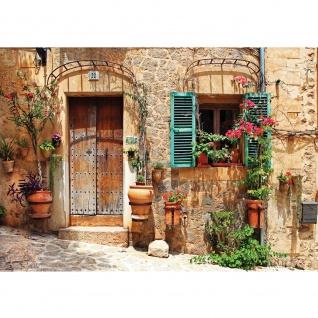 Fototapete Stadt Tapete Mittelmeer, mediterran, Haus, Tür natural   no. 3298