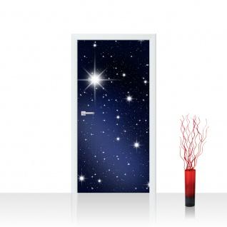 Türtapete - A Million Stars Sternenhimmel Stars Sterne Leuchtsterne Nachthimmel | no. 28