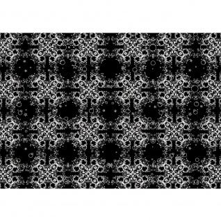 Fototapete Ornamente Tapete Schnörkel Muster Design Kunst schwarz - weiß | no. 2994