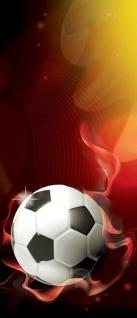 Türtapete - Fussball Fahne Deutschland | no. 980 - Vorschau 5