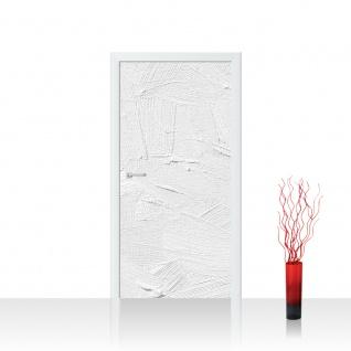 Türtapete - Wall of white shades Wand Spachtel Hintergrund farbige Wand weiß beige | no. 111