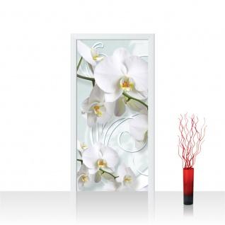 Türtapete - Ornamente Orchideen | no. 305