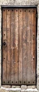 Türtapete - Sonstiges Tür Holz Alt Antik Maserung Stein | no. 4285 - Vorschau 5