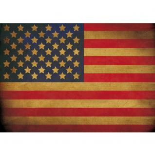 liwwing Vlies Fototapete 312x219cm PREMIUM PLUS Wand Foto Tapete Wand Bild Vliestapete - Texturen Tapete Star Spangled Banner Flagge USA Amerika bunt - no. 3451 - Vorschau 2