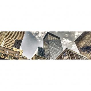 Leinwandbild Manhattan Skyscrapers NYC Hochhäuser Streetview New York Skyline | no. 54 - Vorschau 3