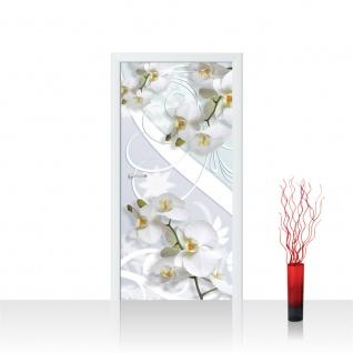 Türtapete - Abstrakt Ornamente Orchidee | no. 441