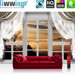 fototapete sonnenaufgang wald g nstig online kaufen yatego. Black Bedroom Furniture Sets. Home Design Ideas