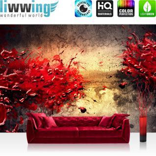 liwwing Vlies Fototapete 350x245 cm PREMIUM PLUS Wand Foto Tapete Wand Bild Vliestapete - PAINT SPLATTER WALL - abstrakt 3D Wand bunt Farbspritzer Color - no. 041