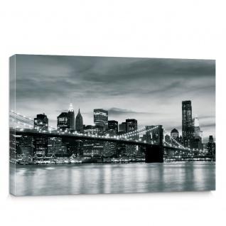 Leinwandbild New York Bridge Lightning | no. 269