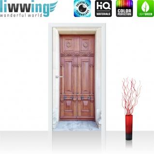 Türtapete - Sonstiges Tür Holz Alt Antik | no. 4275 - Vorschau 2