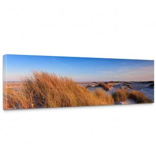 Leinwandbild Strand Düne Wasser Beach Ausblick | no. 246 - Vorschau 1