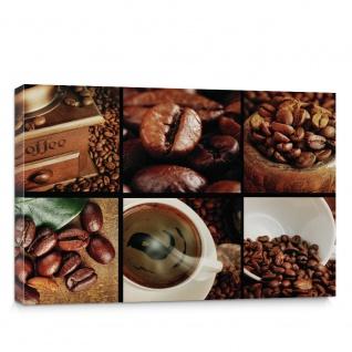 Leinwandbild Fotoreihe Kaffee Bohnen Trinken | no. 3142