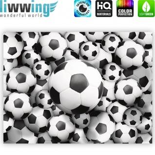 Leinwandbild Fussbälle Sport Soccer Fussball WM Football | no. 977 - Vorschau 4