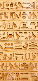 Türtapete - Hyroglyphen Alt Abstrakt Ornamente Symbole | no. 180 - Vorschau 5