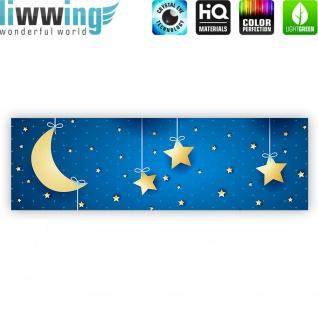Leinwandbild Dreaming Night Kinder Sternenhimmel Stars Sterne Leuchtsterne | no. 120 - Vorschau 4