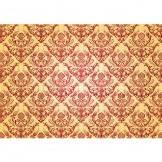 Fototapete Ornamente Tapete Ornamente Muster Luxus Edel Barock gelb | no. 1053