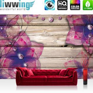 liwwing Vlies Fototapete 104x50.5cm PREMIUM PLUS Wand Foto Tapete Wand Bild Vliestapete - Erotik Tapete Frau Erotik Klavier Fenster Nacht schwarz - no. 2051