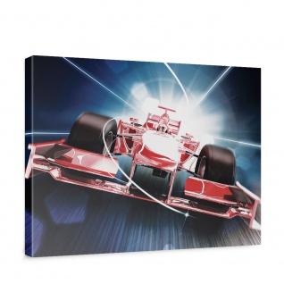 Leinwandbild Auto Formel 1 Rennwagen Speed Tunnelblick   no. 2152