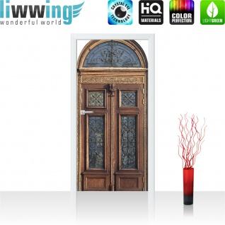 Türtapete - Sonstiges Tür Holz Alt Antik | no. 4273 - Vorschau 2