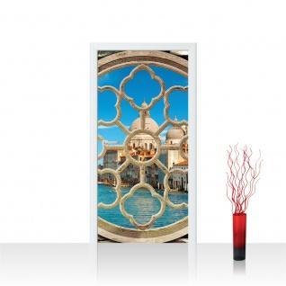 Türtapete - Fenster Wasser Stadt Venedig | no. 566