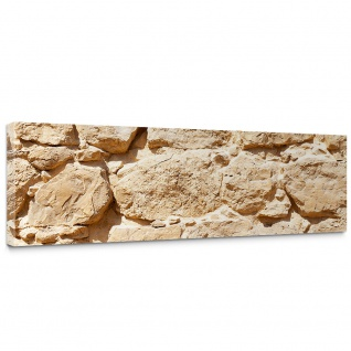 Leinwandbild Rock Stone Wall Steinwand Steine Wand Wall | no. 25