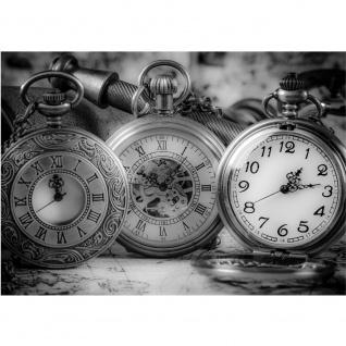 Fototapete Sonstiges Tapete Uhren Zeit Taschenuhren schwarz - weiß | no. 1714
