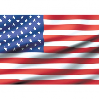 Fototapete Geographie Tapete USA Amerika Flagge Streifen Sterne rot | no. 2570